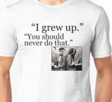 I Grew Up Unisex T-Shirt