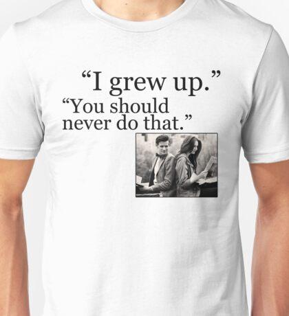 I Grew Up Unisex T-Shirt
