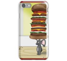 Mouse Burger iPhone Case/Skin