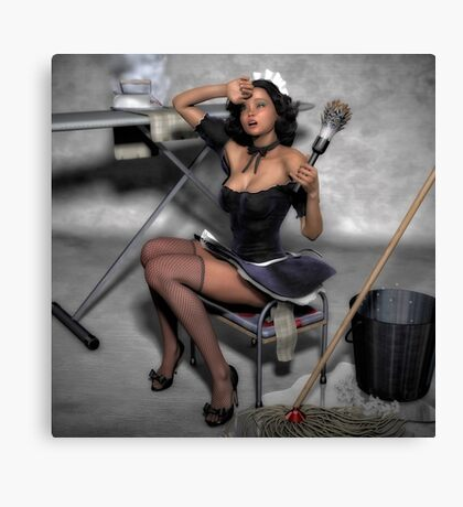 The French Maid 2 Canvas Print