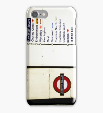 The Underground iPhone Case/Skin