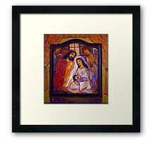 For To Us A Child Is Born Framed Print