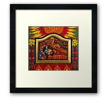 Jesus Carrying the Cross Framed Print