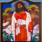 Jesus with Lamb by Barbara Holland