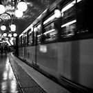 Travel BW - Paris Metro by lesslinear