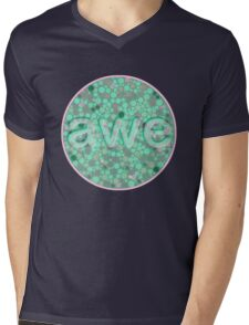Awe 1 Mens V-Neck T-Shirt