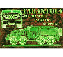 Tarantula - Mechanized Infantry Support Photographic Print