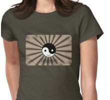 YY Sepia TV Womens Fitted T-Shirt