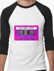 Neon 80s mix tape cassette T-Shirt