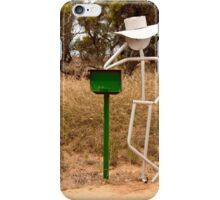 Patience in the Outback iPhone Case/Skin