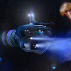 Blue Submarine by Tiffany Muff