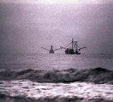 Shrimpboats  by Jim Haley