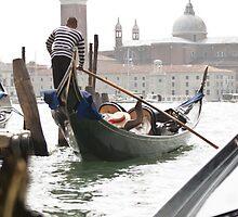 Venice Gondolier II by Tiffany Muff
