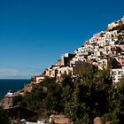 Positano Italy Seaside Town by Tiffany Muff