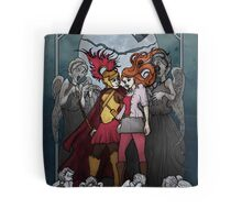 The Angels take the Ponds Tote Bag