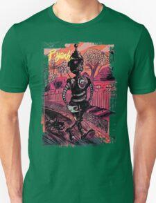 P-Yeah Robot Cat Walker  Unisex T-Shirt