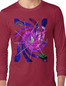 9 pointed star Long Sleeve T-Shirt