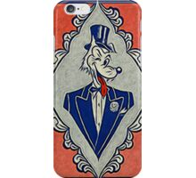 Wolf Card iPhone Case/Skin