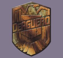 Custom Dredd Badge Shirt - Pocket - (DeAguero)  by CallsignShirts