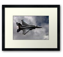 F-15E Strike Eagle on the Edge Framed Print