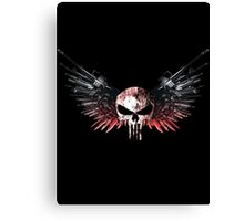 The Angel of Death Canvas Print