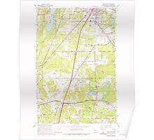 USGS Topo Map Washington State WA Maytown 242229 1959 24000 Poster