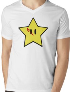 Starmen Mens V-Neck T-Shirt