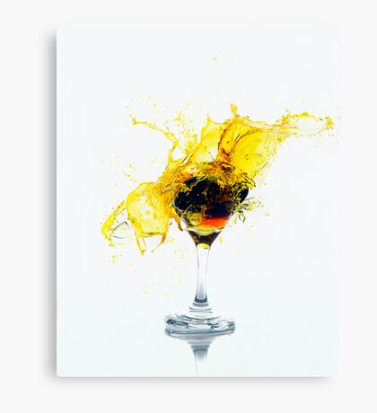 smashing time Canvas Print