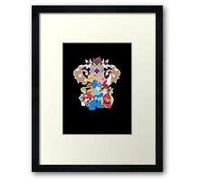 Nintendo Collage  Framed Print