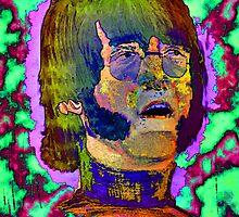 portrait Lennon by LIVING