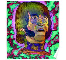 portrait Lennon Poster