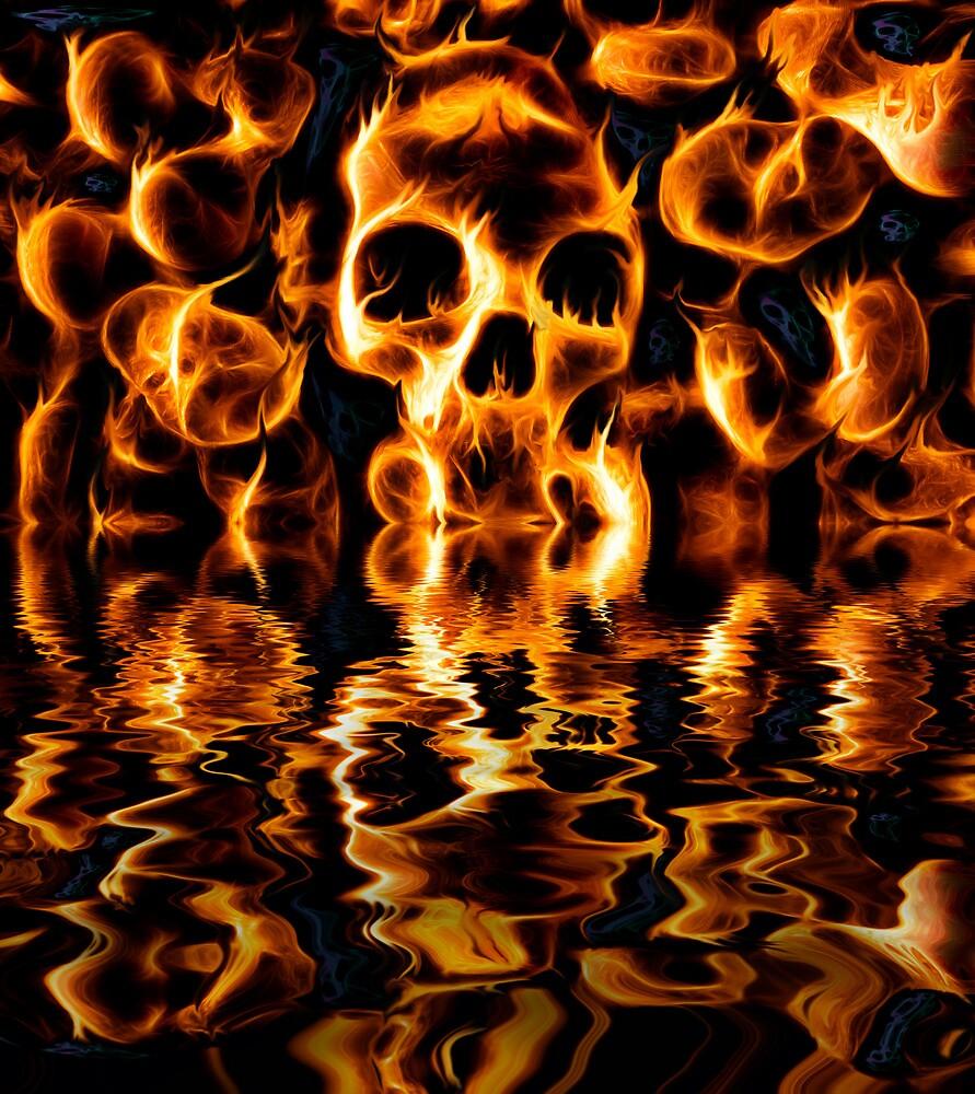 Skulls of Fire by Ian Hufton
