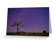 """Stellar Evening At The Rocks"" Greeting Card"