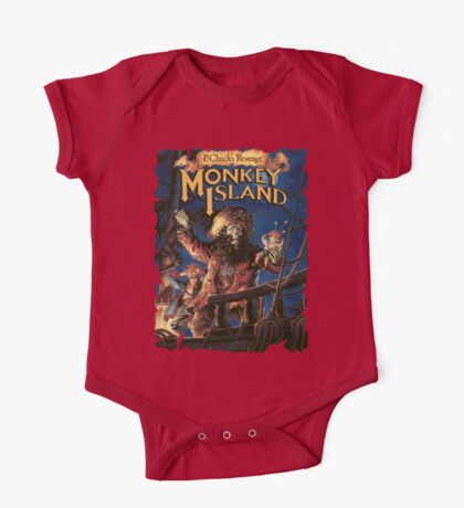 Monkey Island 2 One Piece - Short Sleeve