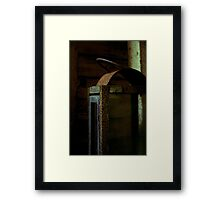 Light Decay Framed Print