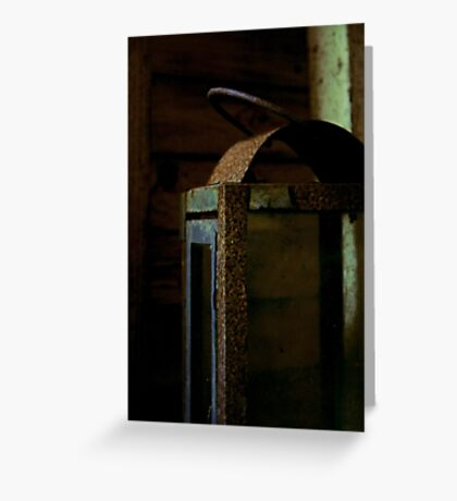 Light Decay Greeting Card