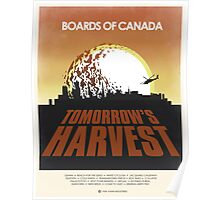 Boards of Canada - Tomorrow's Harvest Poster (Alternate Version) Poster