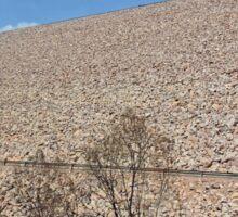 Argyle Dam Wall, Ord River, Western Australia Sticker