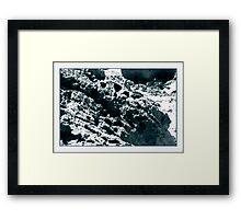 meteyor Framed Print