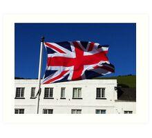 United Kingdom Flag  Art Print