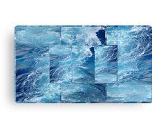 Caribbean Blue... Canvas Print