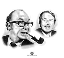 Morecambe & Wise by Jody Moore