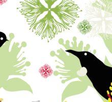 Kiwi Christmas Sticker