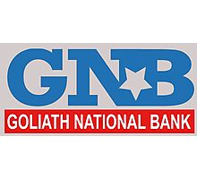 Goliath National Bank Photographic Print