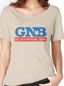 Goliath National Bank Women's Relaxed Fit T-Shirt