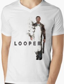 LOOPER Poster Mens V-Neck T-Shirt