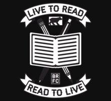 Live to Read Kids Tee