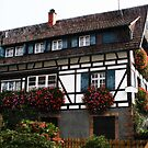 Black Forest Black and White Haus by Jay Taylor