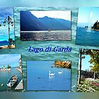 Collage - Lago di Garda by Art-Motiva