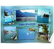 Collage - Lago di Garda Poster